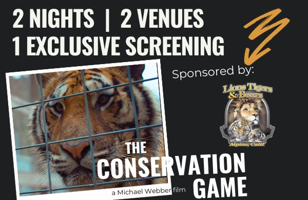the conservation game film screening